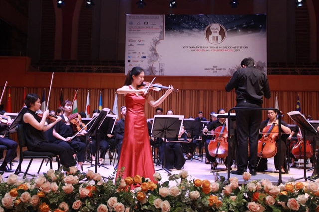 Việt Nam intl music contest names winners
