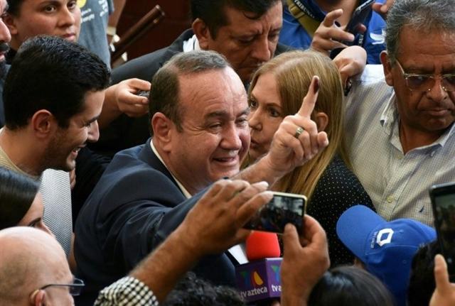 Giammattei declares victory in Guatemala presidential vote
