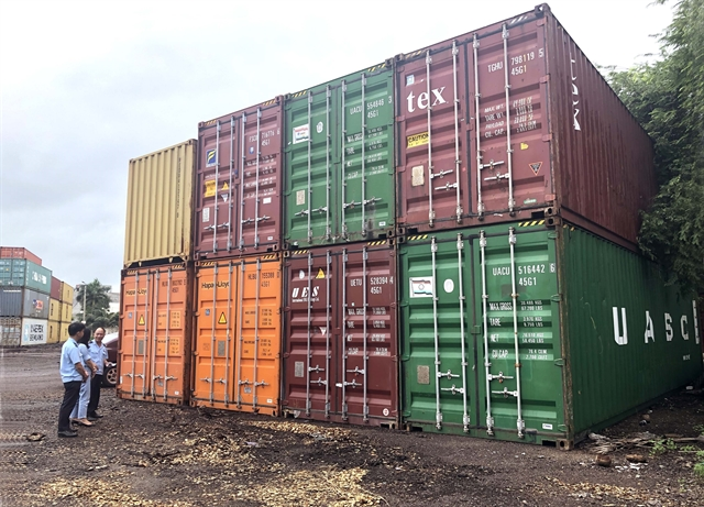 More than 500 scrap containers sent back in first six months of 2019