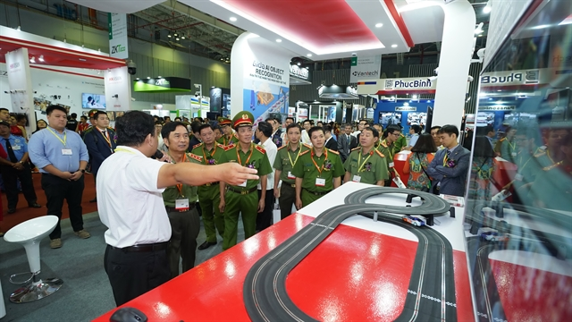 Security fire safety rescue exhibition opens in HCM City