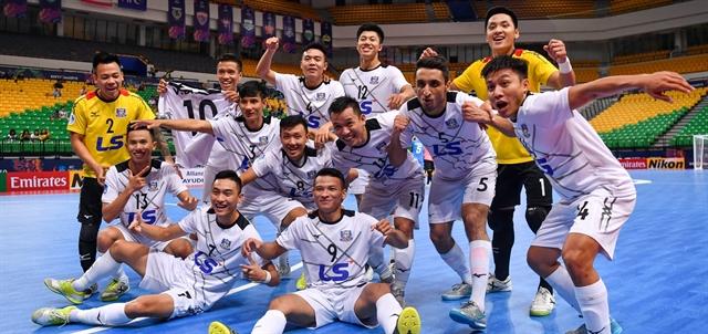 Thái Sơn Nam in AFC Championships semis