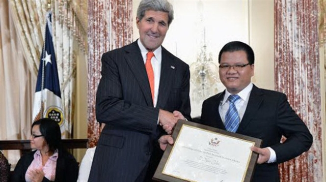 Vietnamese lawyer receives Asian leadership award