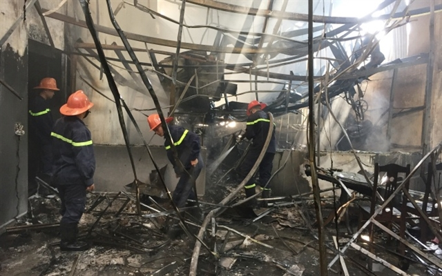 House fire causes great damage in Cao Bằng