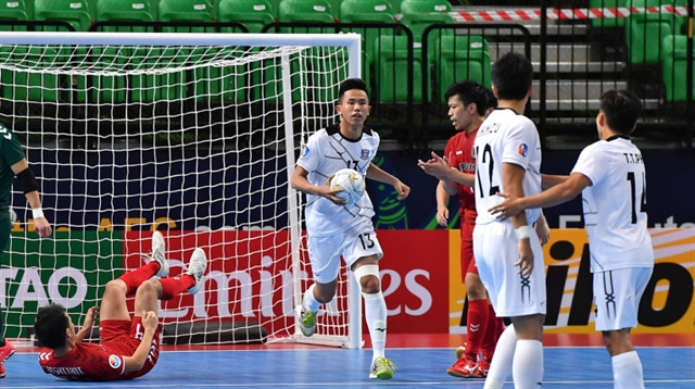 Thái Sơn Nam lose in semis to compete for AFC bronze medal