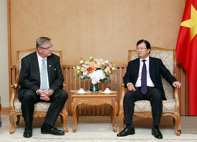 Deputy PM: Việt Nam encourages renewable energy development