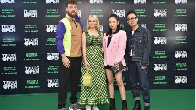 Clean Bandit to collaborate withVietnamese artists