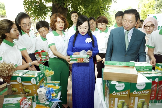 Health minister calls for reduction of plastic waste in health sector