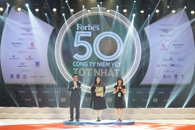 Vietjet named in Forbes top 50 listed Vietnamese companies