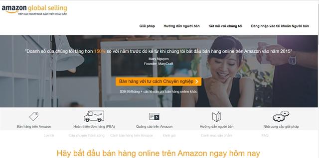 Amazon establishes subsidiary in Việt Nam