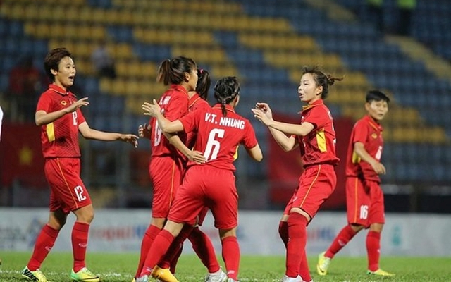 Việt Nam thrash Cambodia in AFF Womens Championship