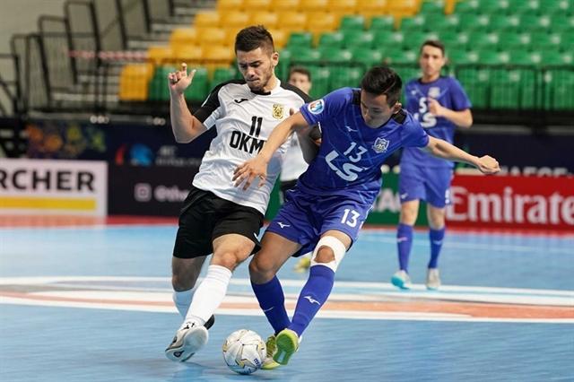 Thái Sơn Nam win bronze medal at AFC futsal champs