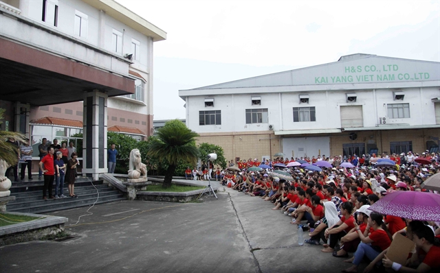 KaiYang footwear workers to go back to work receive back pay