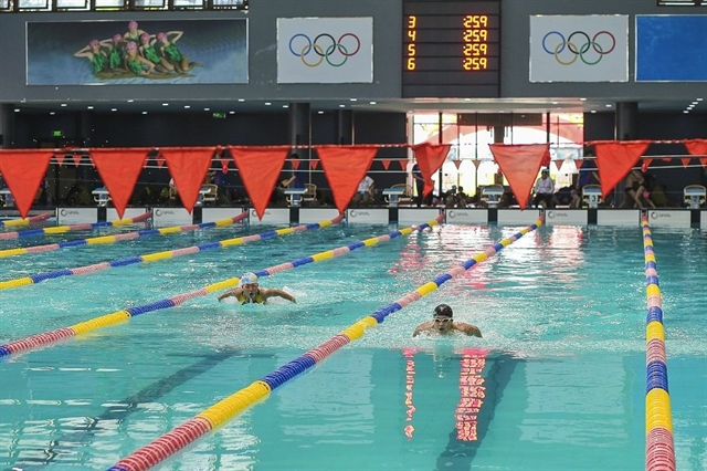 National Defence Sport Centre 5 triumph at national swimmimg and finswimming champs