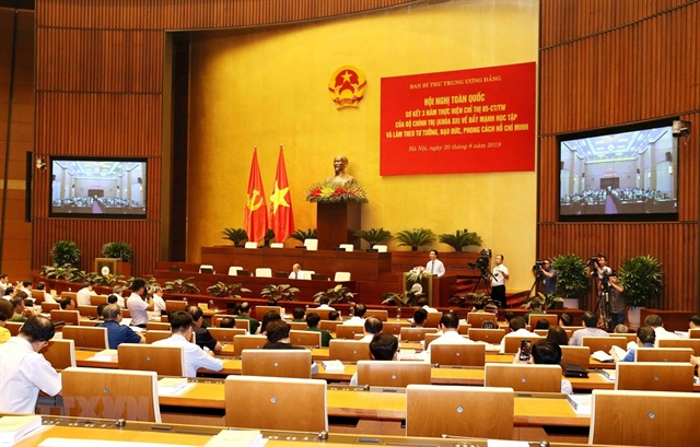 Study of Uncle Hồs thought morality and lifestyle reviewed in teleconference