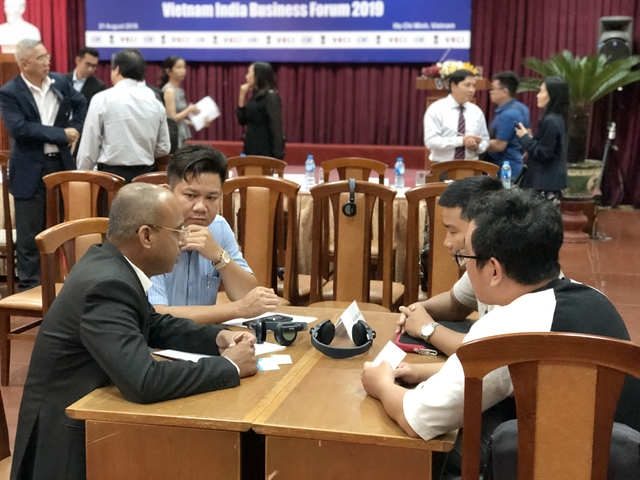 Indian Vietnamese firms discuss trade investment