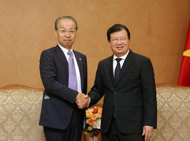 Deputy PM applauds JX NOEXs cooperation proposals