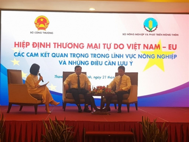 EVFTA give Vietnamese agricultural firms both opportunities and challengers