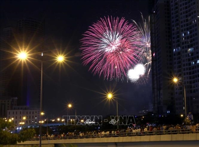 Fireworks in HCM City to celebrate Nation Day
