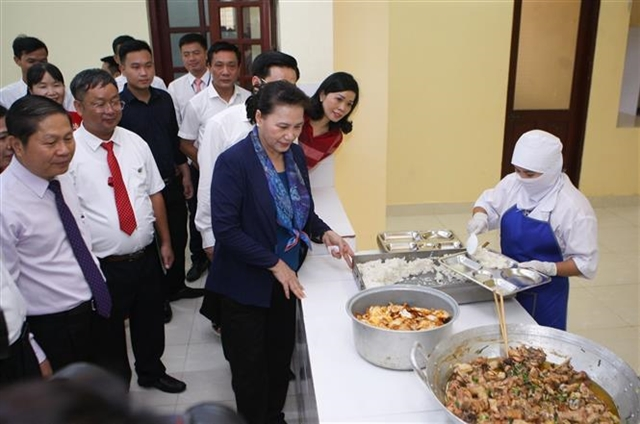 Top legislator visits mountainous commune in Quảng Ninh province