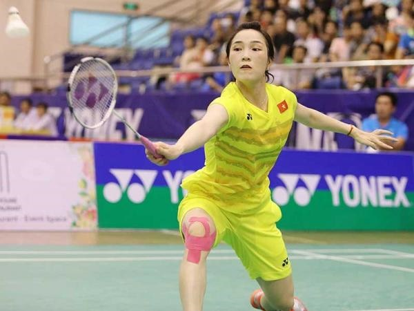 Trang ends competition at world badminton event