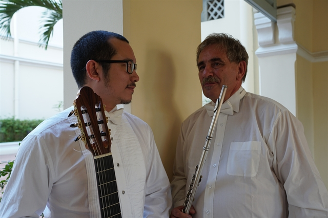 Duo to perform works by South American composers