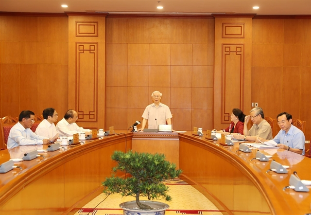 Party leader chairs personnel sub-committee meeting for next congress