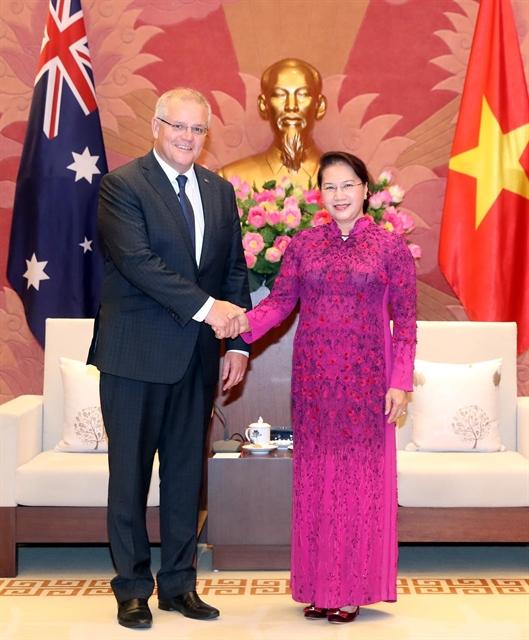 NA Chairwoman meets Australian Prime Minister