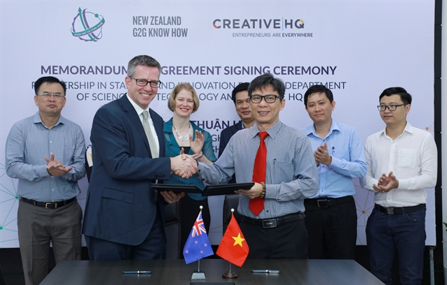 New Zealand VN sign deal to develop start-up innovation eco-systems
