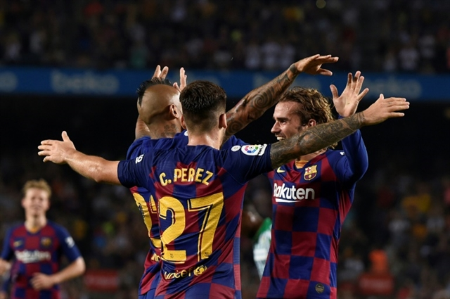 I tried to copy Messi and LeBron says Griezmann after Barca double