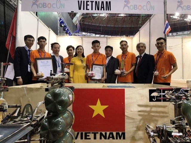 Việt Nam finishes third at 2019 ABU Robocon in Mongolia
