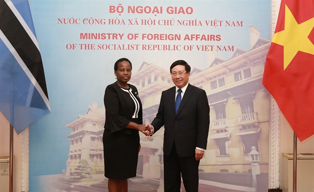 VN Botswana foreign ministers hold talks