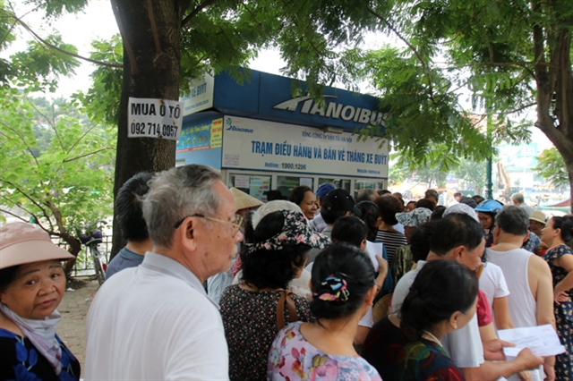 Thousands of Hà Nội residents permitted to use city buses for free