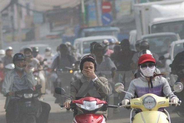 Vehicles large contributors to Hà Nộis air pollution