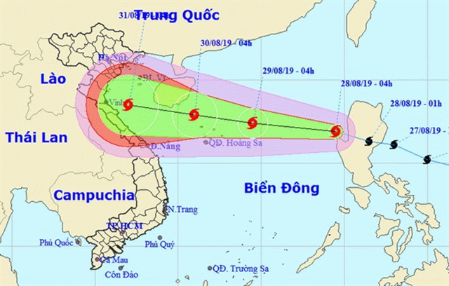 Pudul storm expected to reach Viet Nam on National Day