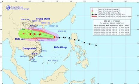Việt Nam prepares for storm Podul