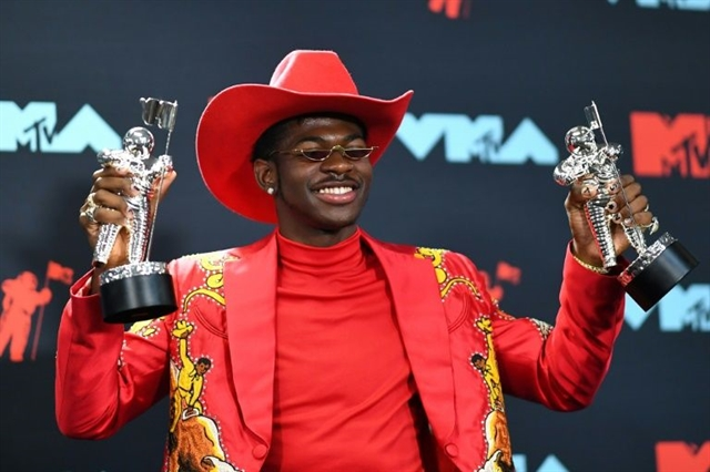 Rapper Lil Nas X nominated for Country Music Award