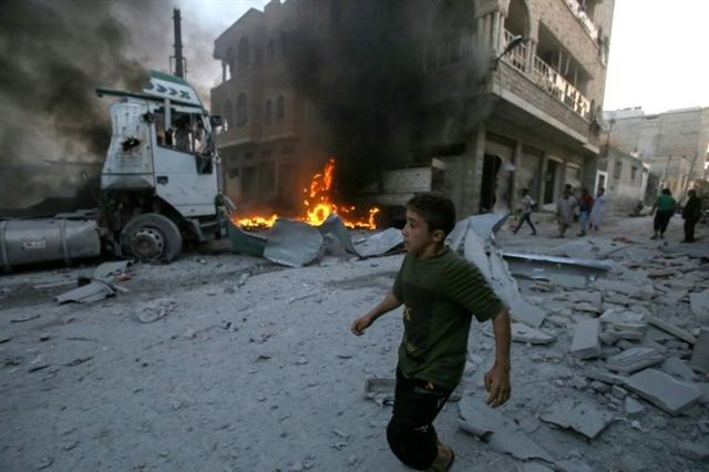 Erdogan discusses fighting in Syrias Idlib with Trump