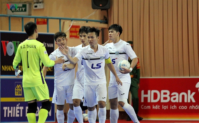 National futsal tournaments second stage begins in HCM City