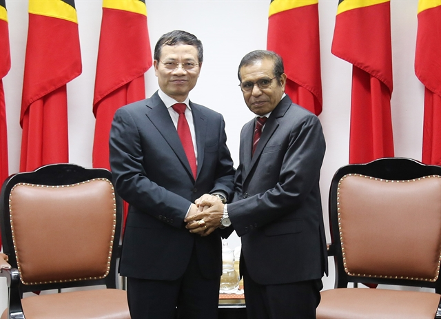 Việt Nam Timor Leste look to promote relations