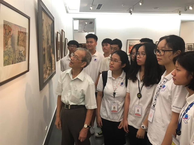 Art exhibition features Uncle Hồ