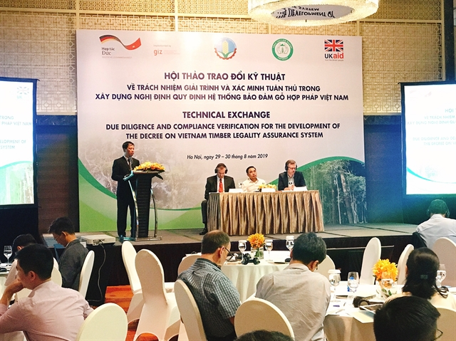 Việt Nam boosts fight against illegal timber products
