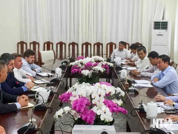 Russian enterprise wants to build power plant in Ninh Thuận
