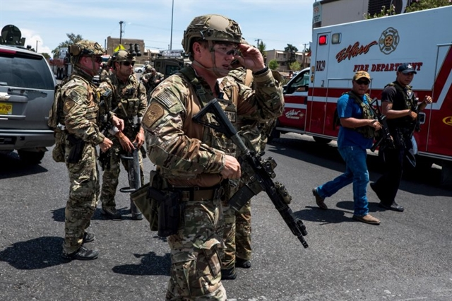 Police investigating Texas shooting as possible hate crime: chief