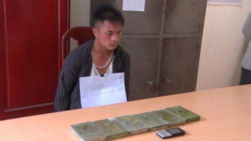 Two held accused of trafficking heroin