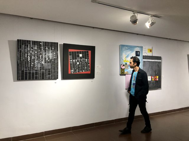 Artists from 16 countries show works atintlexhibition