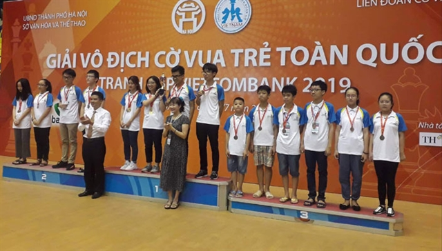 HCM City triumph at national youth chess event