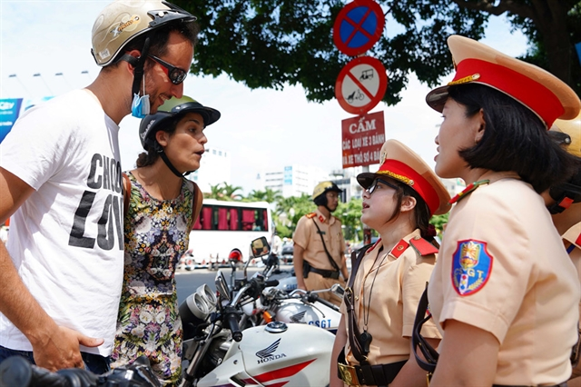 HCM City to crack down on foreigners violating traffic rules