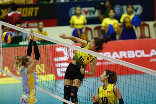 Việt Nam into intl volleyball tournaments semi-finals