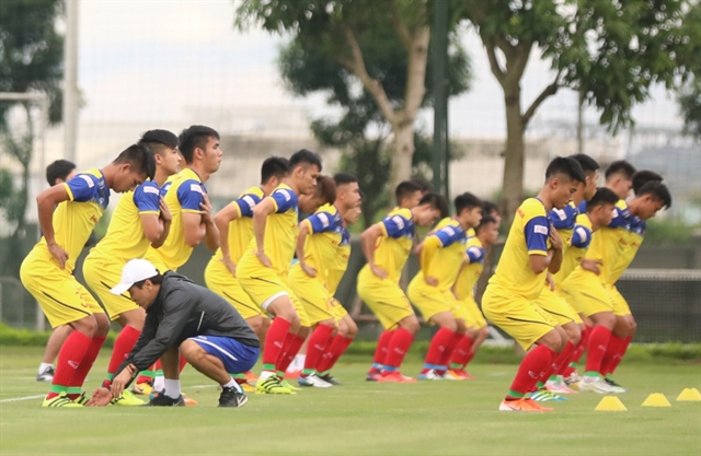 U22 national football team schedules friendly against Kitchee SC