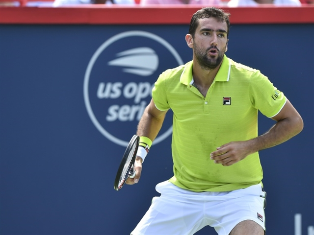 Cilic survives ace onslaught from qualifier in Montreal